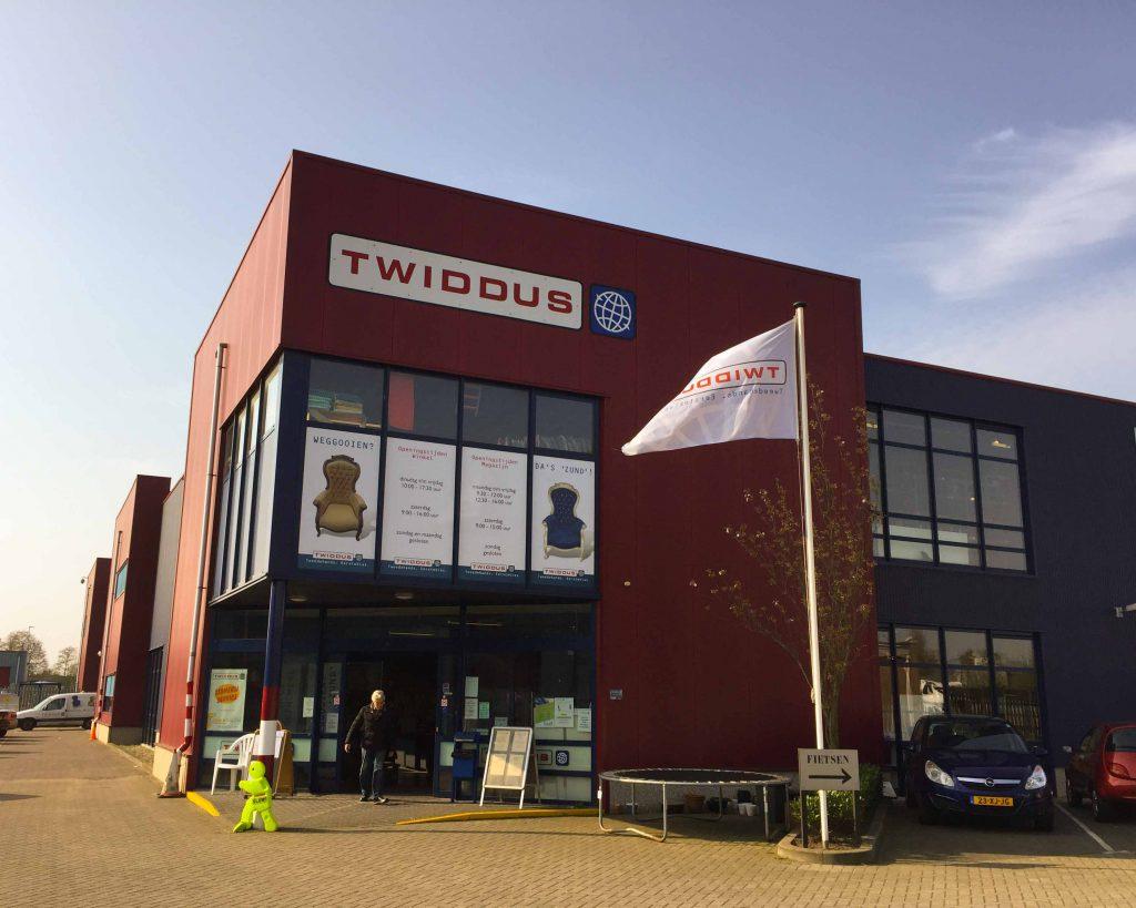 Het kringloopwarenhuis van Twiddus vindt u aan de Zanddonkweg 14 in Waalwijk.