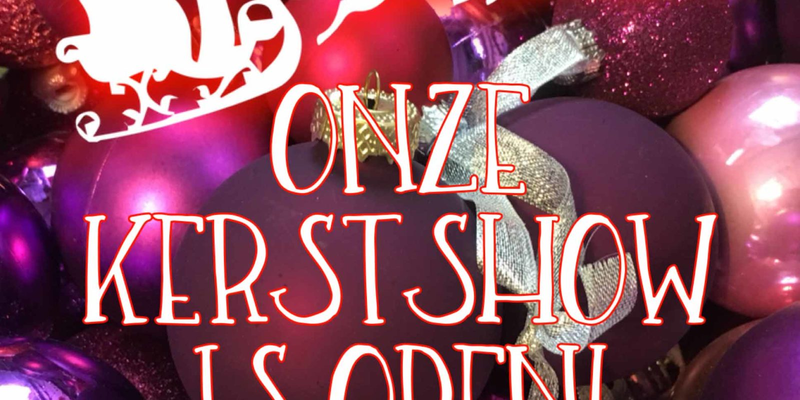 Kerstshow Twiddus is open